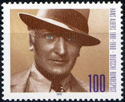 Timbre: Hans Albers, acteur