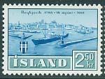 Timbre: 175e ann. de Reykjavik