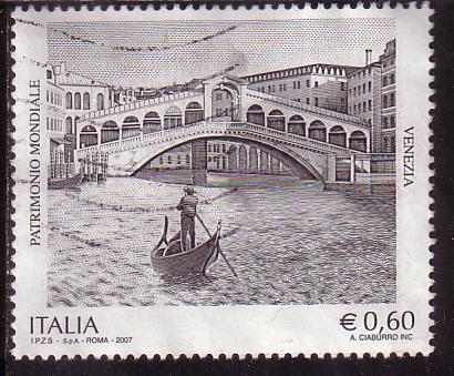 Timbre: Patrimoine mondial de l'UNESCO - Venise