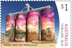 Timbre: $1 Drapl and The Zookeeper, Thallon, Qld