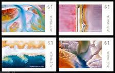Timbre: Série complète de 4: Art in Nature