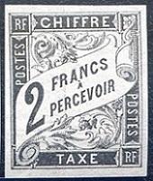 Timbre: Colonie françaises: timbre taxe