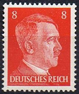 Timbre: Effigie d'Hitler