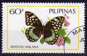 Timbre: Adolias amlana ( Voir note)