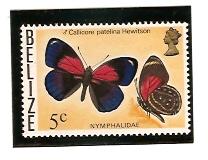 Timbre: Callicore patelina Hewitson