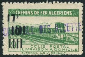 Timbre: Timbre pour colis postaux