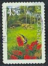 Timbre: Jardins-Fleurs  (Adhésif)