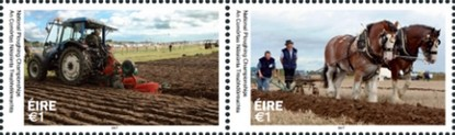Timbre: National Ploughing Championships   La Paire