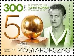 Timbre: 50th Anniversary of Florian Albert's Ballon D'Or