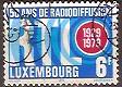 Timbre: 50 ans de radiodiffusion au Luxembourg