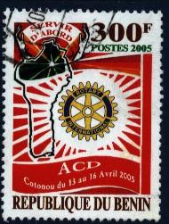 Timbre: Rotary international