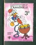 Timbre: Année des enfants, Donald Duck,