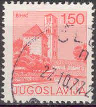 Timbre: Ville de Budva - Bihac