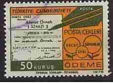 Timbre: Chèque postaux