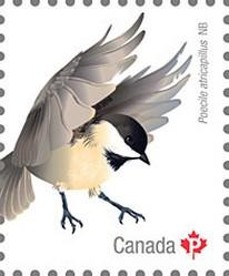 Timbre: Oiseaux du Canada adhesive