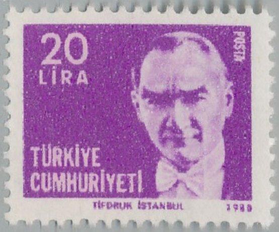 Timbre: Kemal Ataturk
