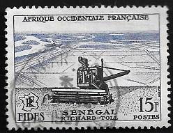 Timbre: Richard Toll au Sénégal