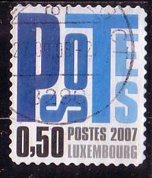 Timbre: Postocollants (bleu)