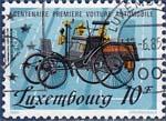 Timbre: Centenaire première voiture Automobile