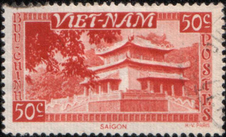 Timbre: Saïgon, le temple du Souvenir