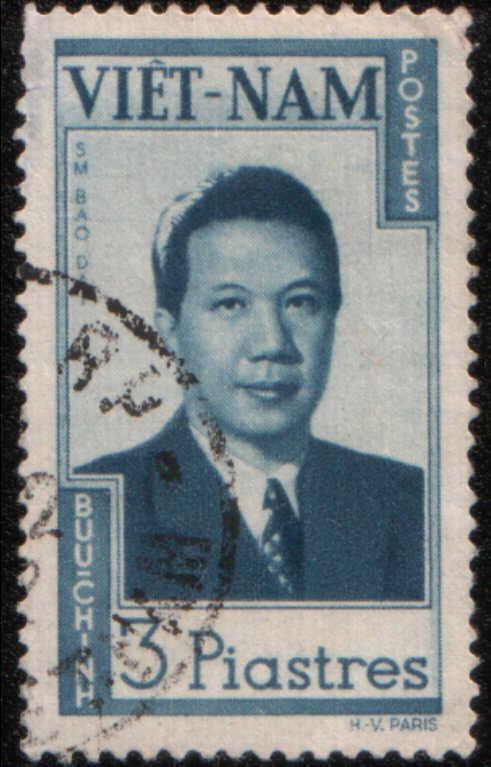 Timbre: Empereur Bao-Daï