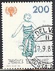 timbre: Année intern. de l'enfant