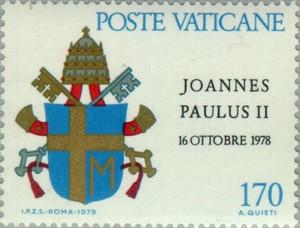 timbre: Intronisation de Jean Paul II