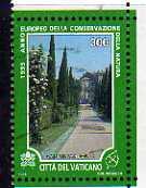 timbre: Année europ. conservation de la nature