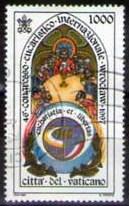 timbre: Congrès eucharistique international à Wroclaw
