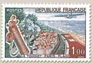 timbre: Le touquet Paris plage NSG
