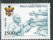 timbre: Voyage du Pape aux Etats Unis