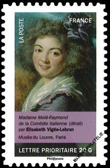 Timbre: Mme Molé-Raymond ( Obli vague)