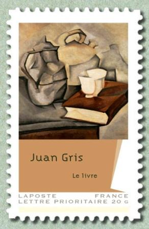 Timbre: Juan Gris ( Obli vague)