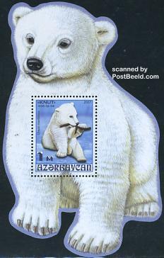 Timbre: Ours polaire le bloc
