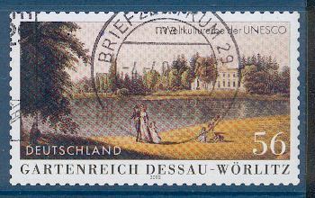 Timbre: Desau-Wörlitz. adhésif