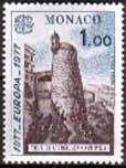 Timbre: Europa: Monument: la tour