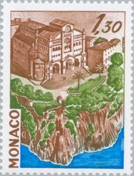 Timbre: La cathédrale de Monaco     *