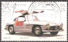 Timbre: 300SL Mercedes Benz