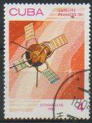 timbre: Satellite français D1