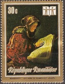 timbre: La mère de Rembrandt
