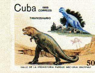 timbre: Tyrannosaure