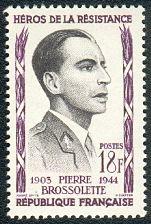 timbre: Brossolette Pierre -