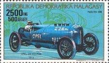 Timbre: Opel de course 1913
