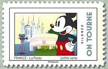 Timbre: Mickey : Silence on tourne (ob vague cote-50%)
