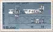 Timbre: FARMAN OR x 5 dont 1 paire