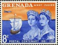 Timbre: 100 anniversaire du  timbre