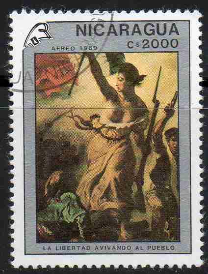Timbre: Bicentenaire de la Révolution française et Philexfrance