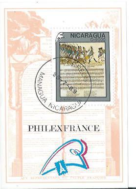 Timbre: Philexfrance'89.Bicentenaire de la Révolution française
