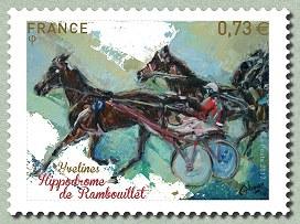 Timbre: Hippodrome de Rambouillet -