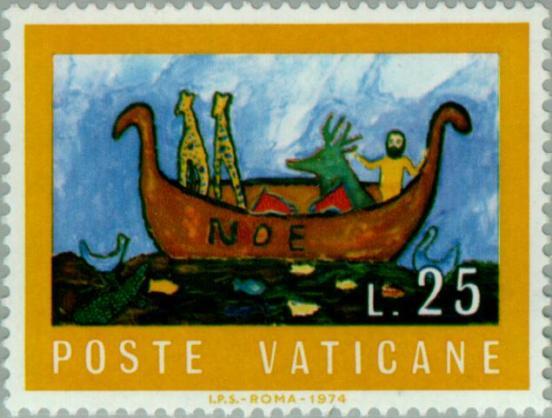 Timbre: L'Arche de Noé